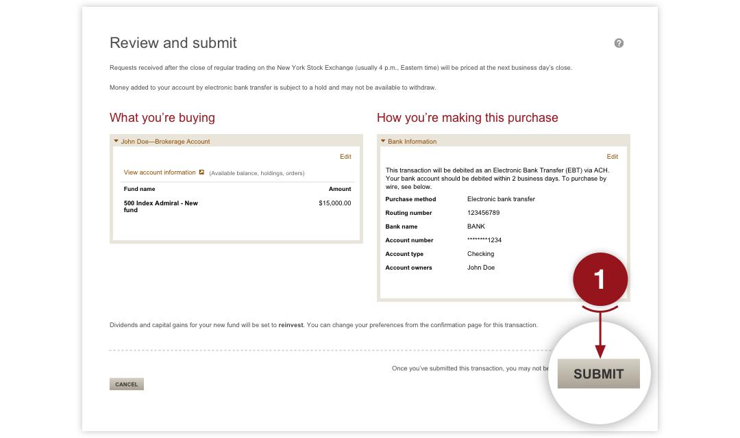 How Do I Buy A Vanguard Mutual Fund Online Vanguard